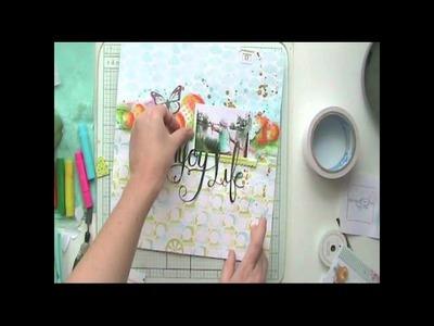 Scrapbooking layout (tutorial)