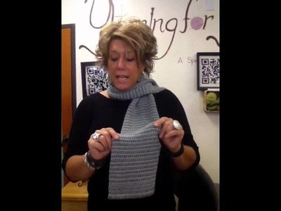 Tunisian Crochet Scarf Class