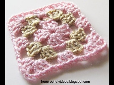 Classic Granny Square in Two Colors