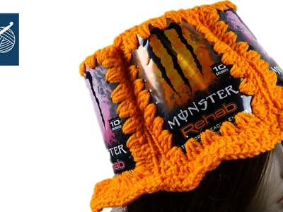 Crochet Can Hat - Left Hand Crochet