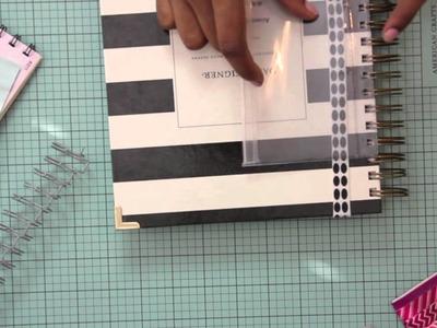Day Designer DIY   Page Marker and Repurposed Zip Pocket :: LabelleAngelle