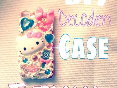 DIY: How to Decoden iPod 5 Case Tutorial