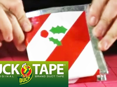 Duck Tape Crafts: How to Make a Christmas Wallet