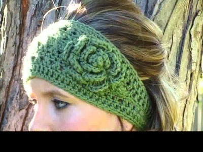 Free crochet headband for beginners