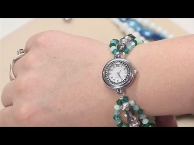 How To Create Beaded Watch Bands