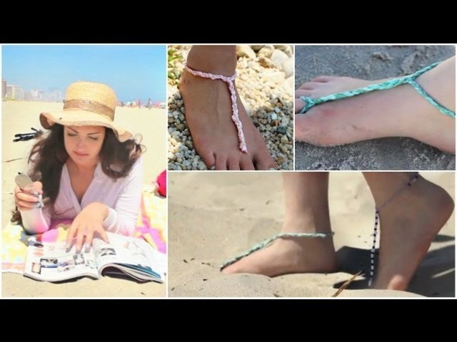 How To: DIY Easy Bottomless Sandals!