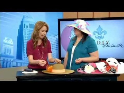 Make a Derby Hat with Craft E Magee