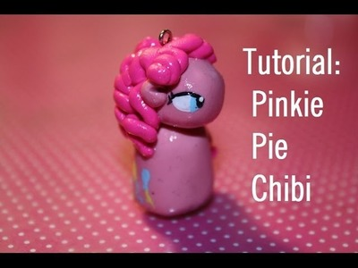 TUTORIAL: Pinkie Pie Chibi Charm My Little Pony - DIY Polymer Clay