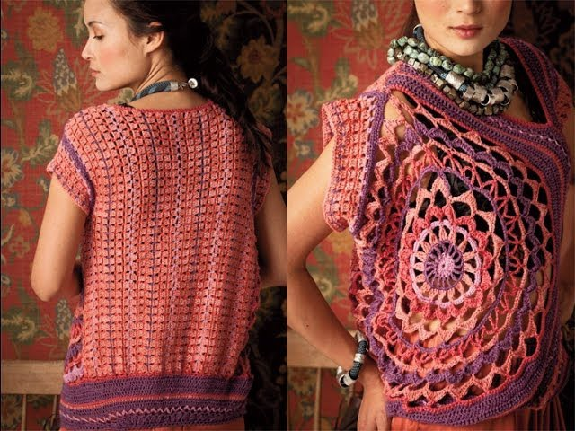 #30 Circle Top, Vogue Knitting Crochet 2012