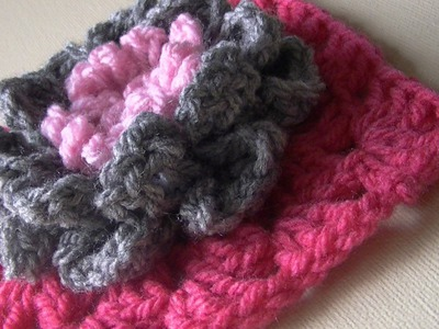 3D Layered Flower Crochet Tutorial   by Daisy Jones Version 1