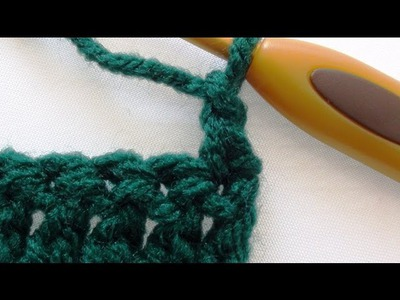 Alternative Double Crochet Turning Chain - Double Crochet Turning Chain