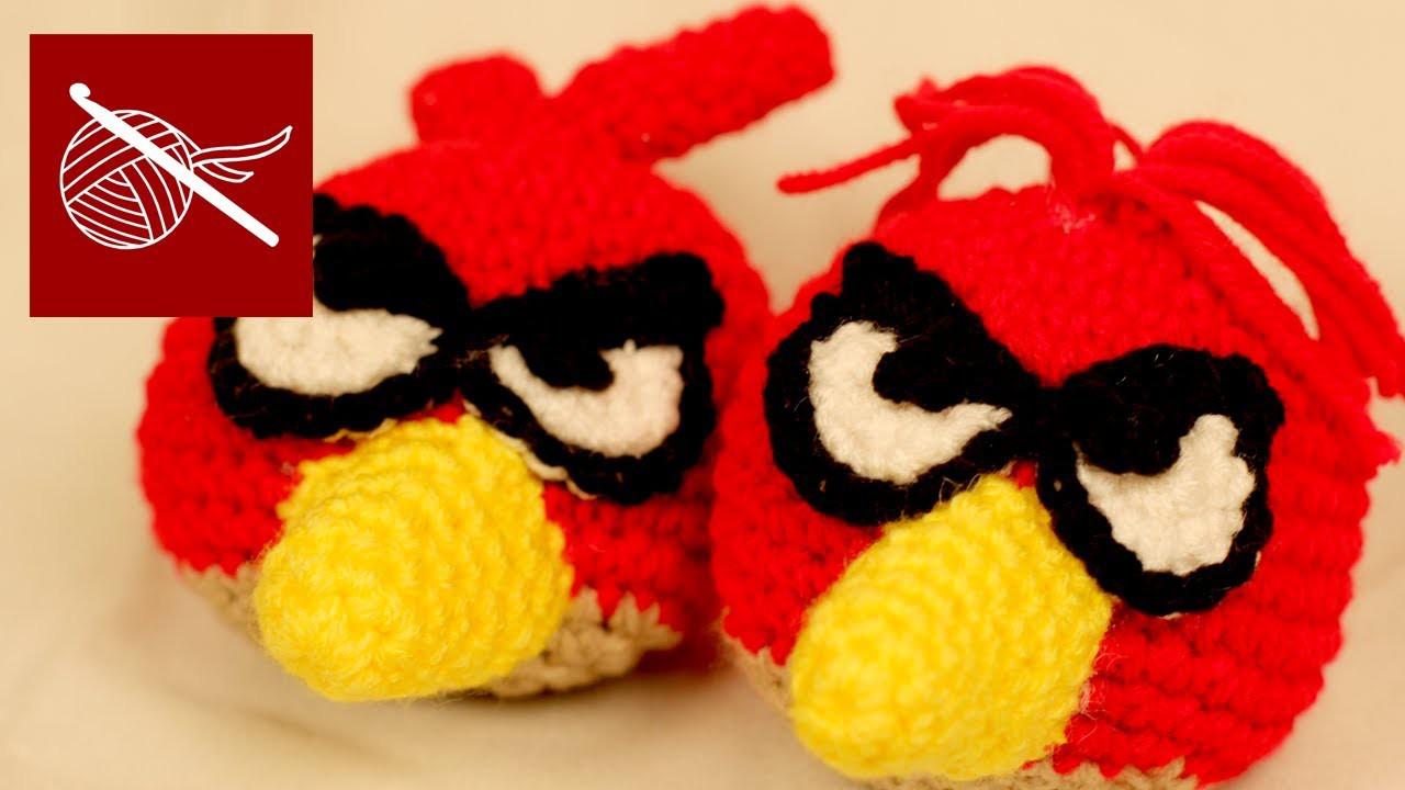 Amigurumi Angry Bird Crochet Crochet Geek