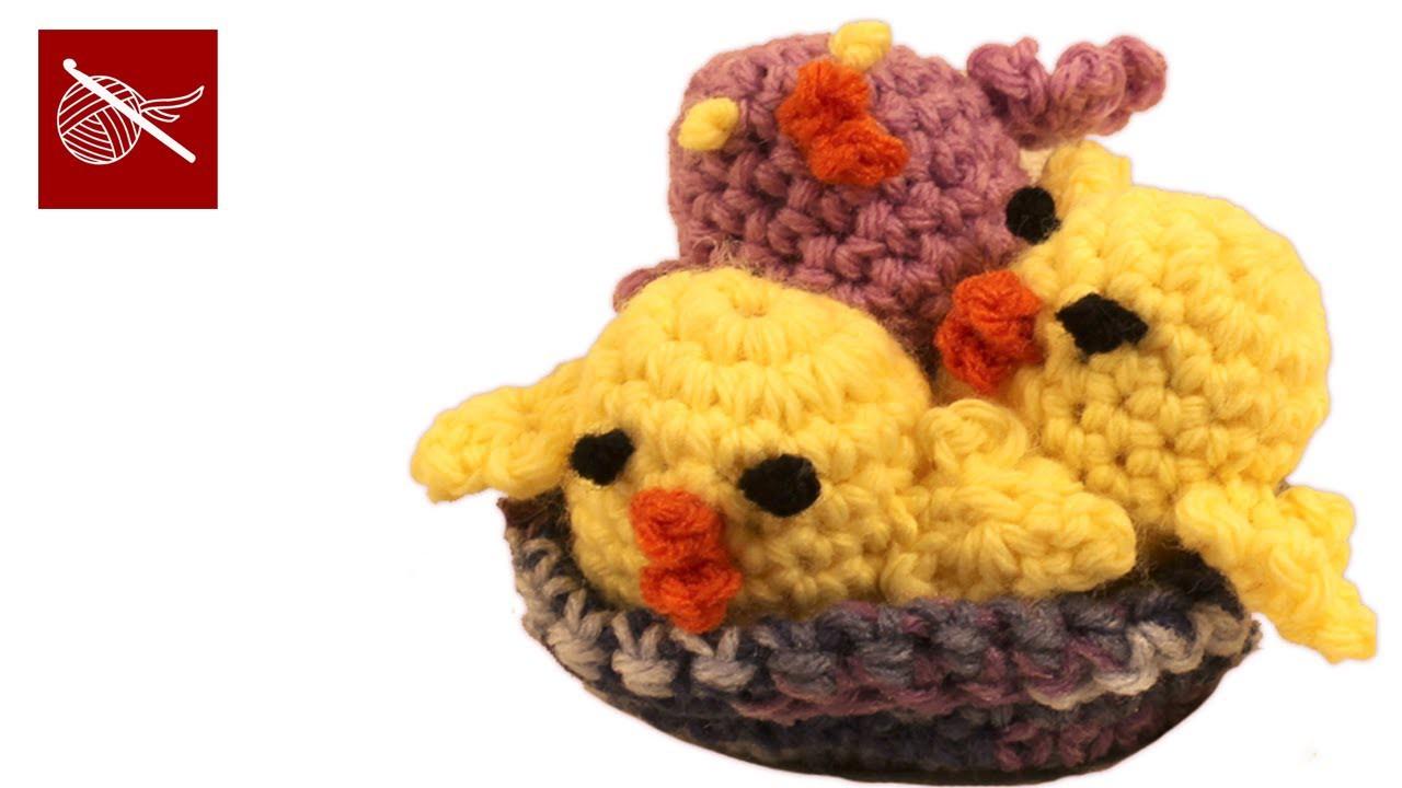 Amigurumi Crochet Geek Peep