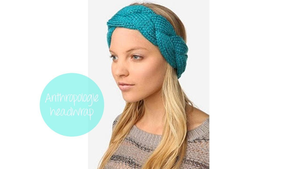 Anthro-Inspired Plaited Head Wrap
