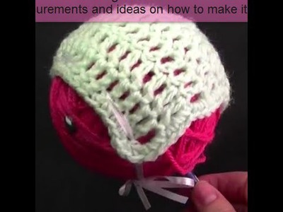 Baby Bonnet Crochet Tutorial