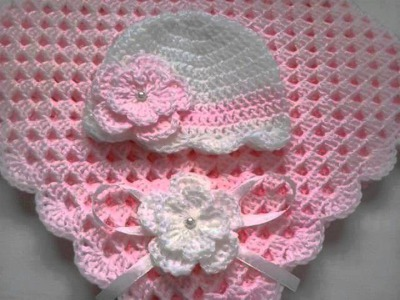 Baby Girl Crochet Blanket