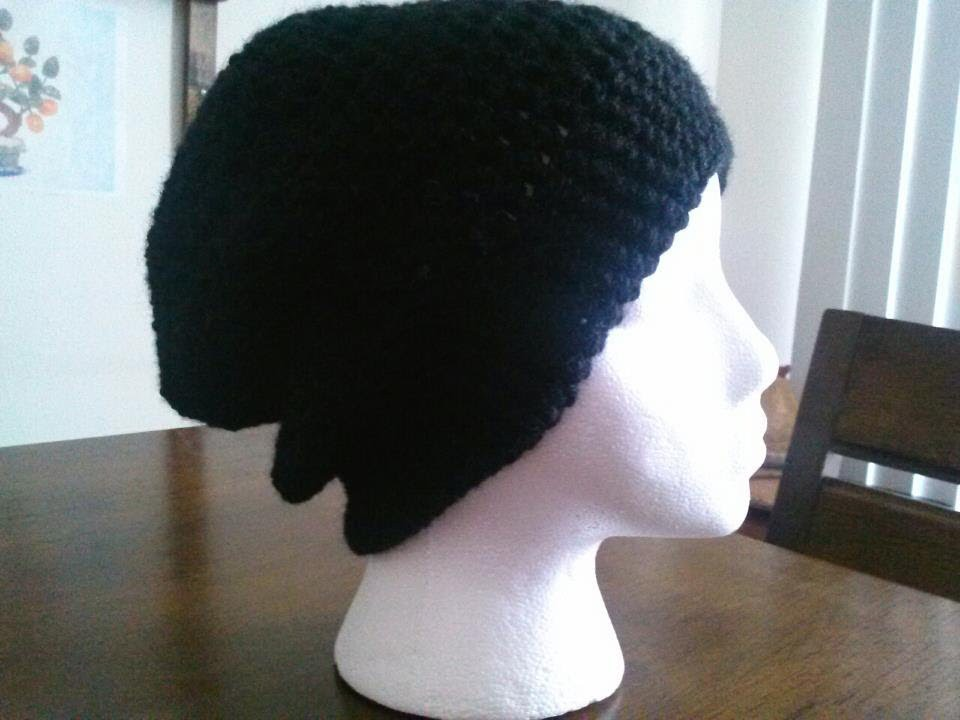 Basic Crown For Crochet Slouchy Hat. Beanie