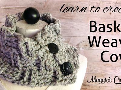 Basket Weave Cowl Free Crochet Pattern