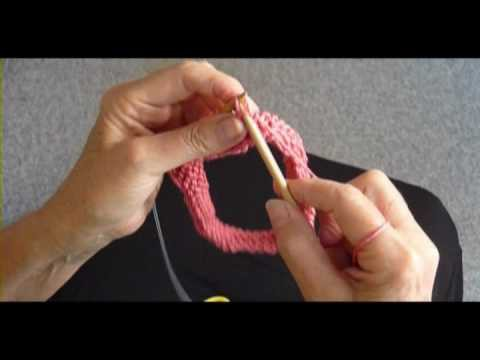BIND OFF ON CIRCULAR NEEDLE