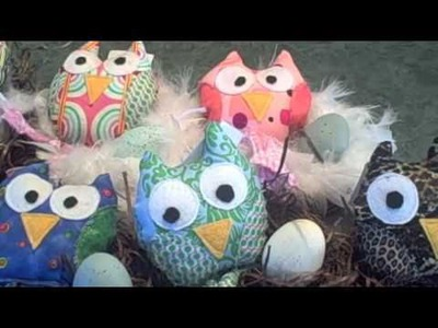 Boutique Cafe DIY Owl Nest Tutorial for Christmas