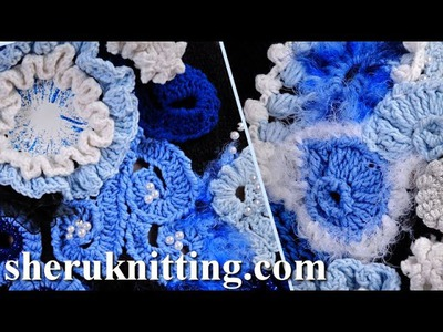 Build Up Freeform Crochet Projects How to Tutorial 1 Part 2 of 2 Freeform Crochet Art