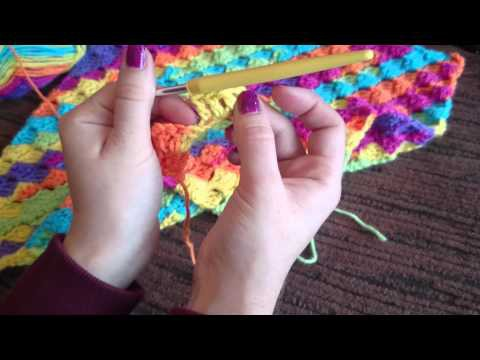 C2C Corner to Corner Crochet Blanket Tutorial