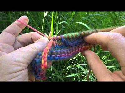 Cat Bordhi's Knit-as-you-go Tendrils