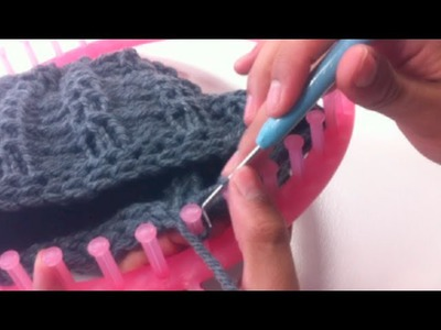 Circular Loom Knitting: How to Bind Off (DIY Tutorial)
