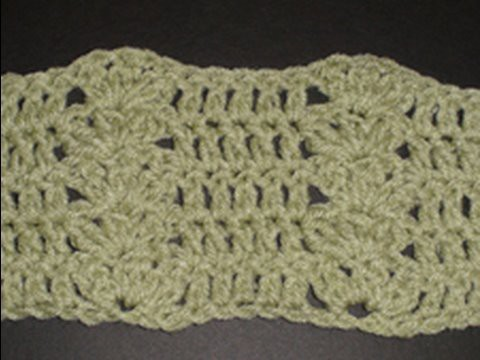 Cluster Shell and Double Crochet Stitches - Blanket Crochet Geek
