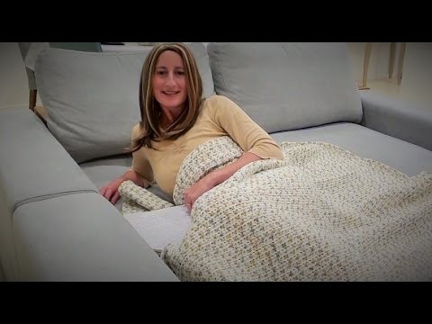 Couch Bed Crochet Blanket - Crochet Blanket for Beginners