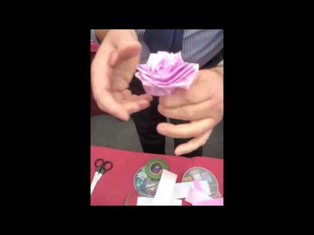 Craft Ideas - Make Ribbon Roses
