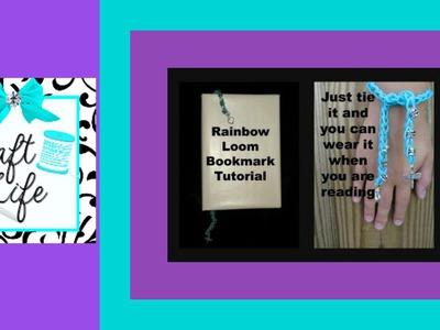 Craft Life ~ Rainbow Loom Beaded Bookmark Tutorial