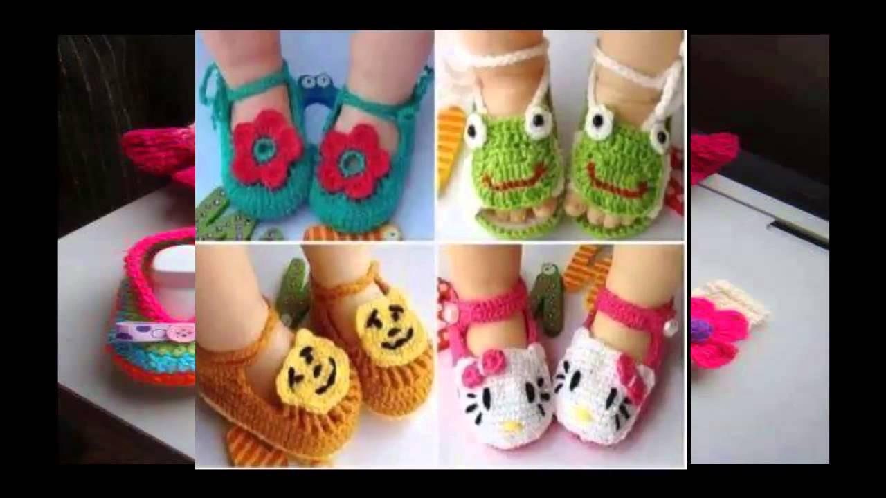 Crochet Baby Booties - Creative Ideas!