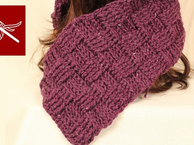 Crochet BasketWeave Stitch Baby Blanket, Shawl, Scarf