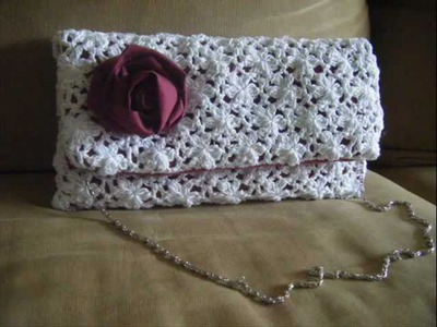 Crochet Clutch Lace Pattern