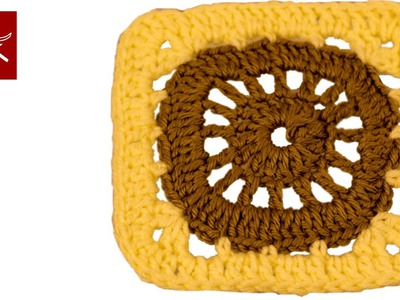 Crochet Granny Square How To - Circle to Square Crochet Geek