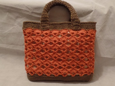 Crochet Handbag Purse Bag #TUTORIAL