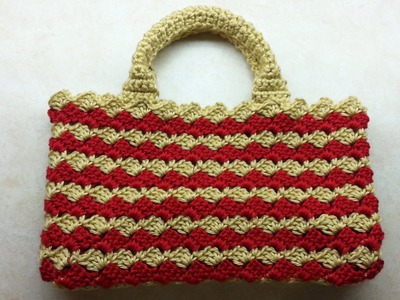#Crochet Look A-Like #PRADA BAG #Handbag #TUTORIAL #DIY