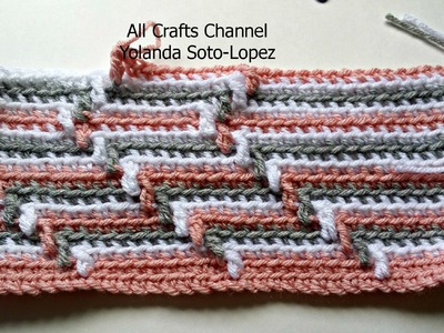 #Crochet pattern  for blanket  (English )