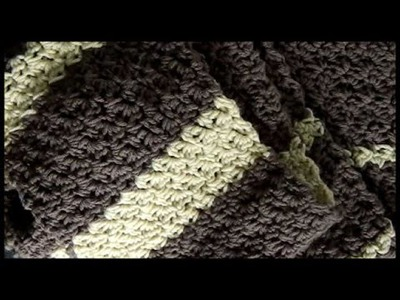 Crochet Seed Stitch Scarf (and Stitch Pattern)