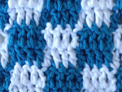 CROCHET STITCHES Checks Changing Colors How to Pattern Maggie Weldon