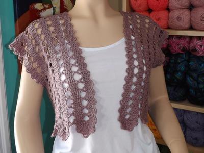 Crochet Summer Cardigan Part 1 Of 2