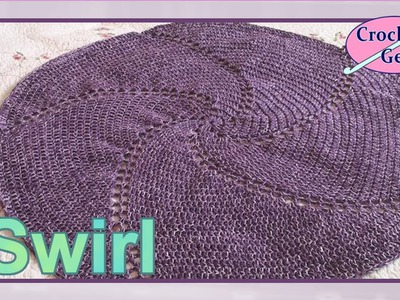 Crochet Swirl Afghan Baby Blanket on YouTube Crochet Geek