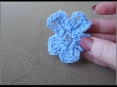 Crochet Violet Flower - How to Crochet Violet Flower