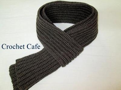 كروشيه كوفية رجالي | كروشيه كافيه | Crochet Cafe