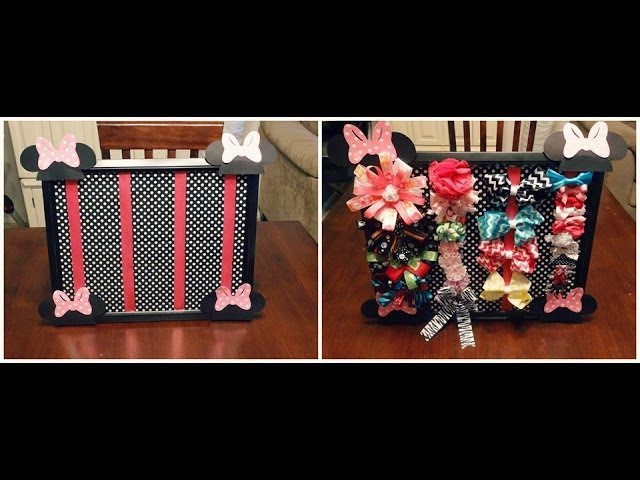 DIY Bow Holder Tutorial