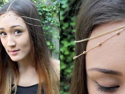 DIY: Chain Head Piece (Headchain)