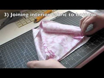 DIY Craft Organization: How to Make a Fabric Box