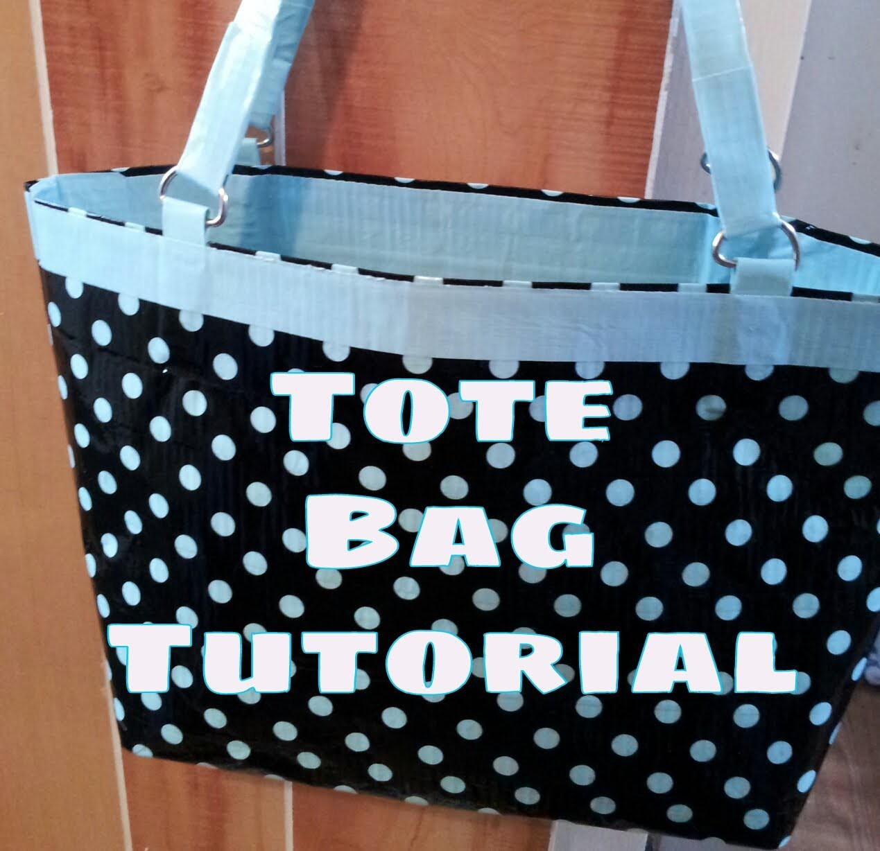 (DIY) Duct Tape Tote Bag Purse Tutorial!!! ( NO SEW)