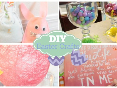 DIY Easter Crafts & Decor | Courtney Lundquist